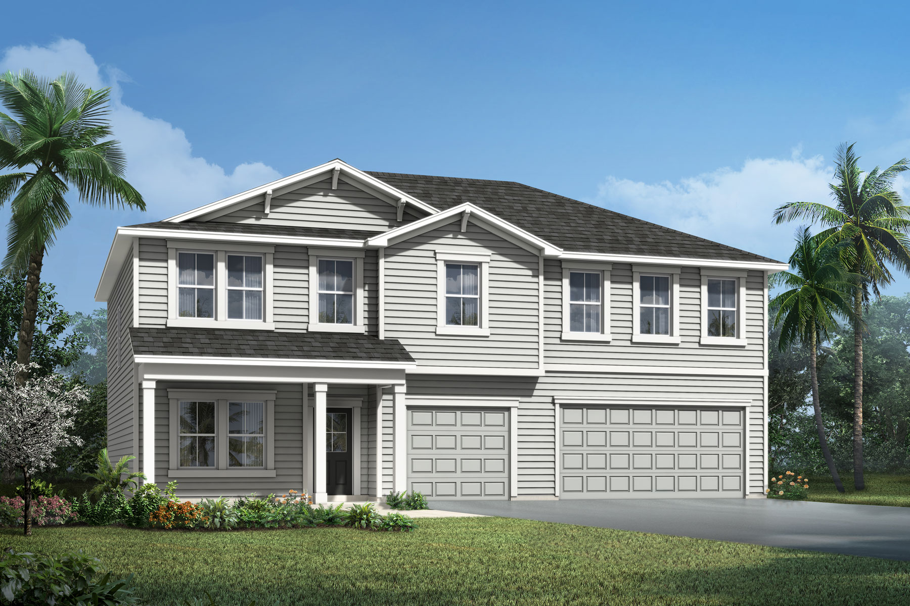 Chatam Plan Elevation Front at RiverTown - Haven in St. Johns Florida by Mattamy Homes