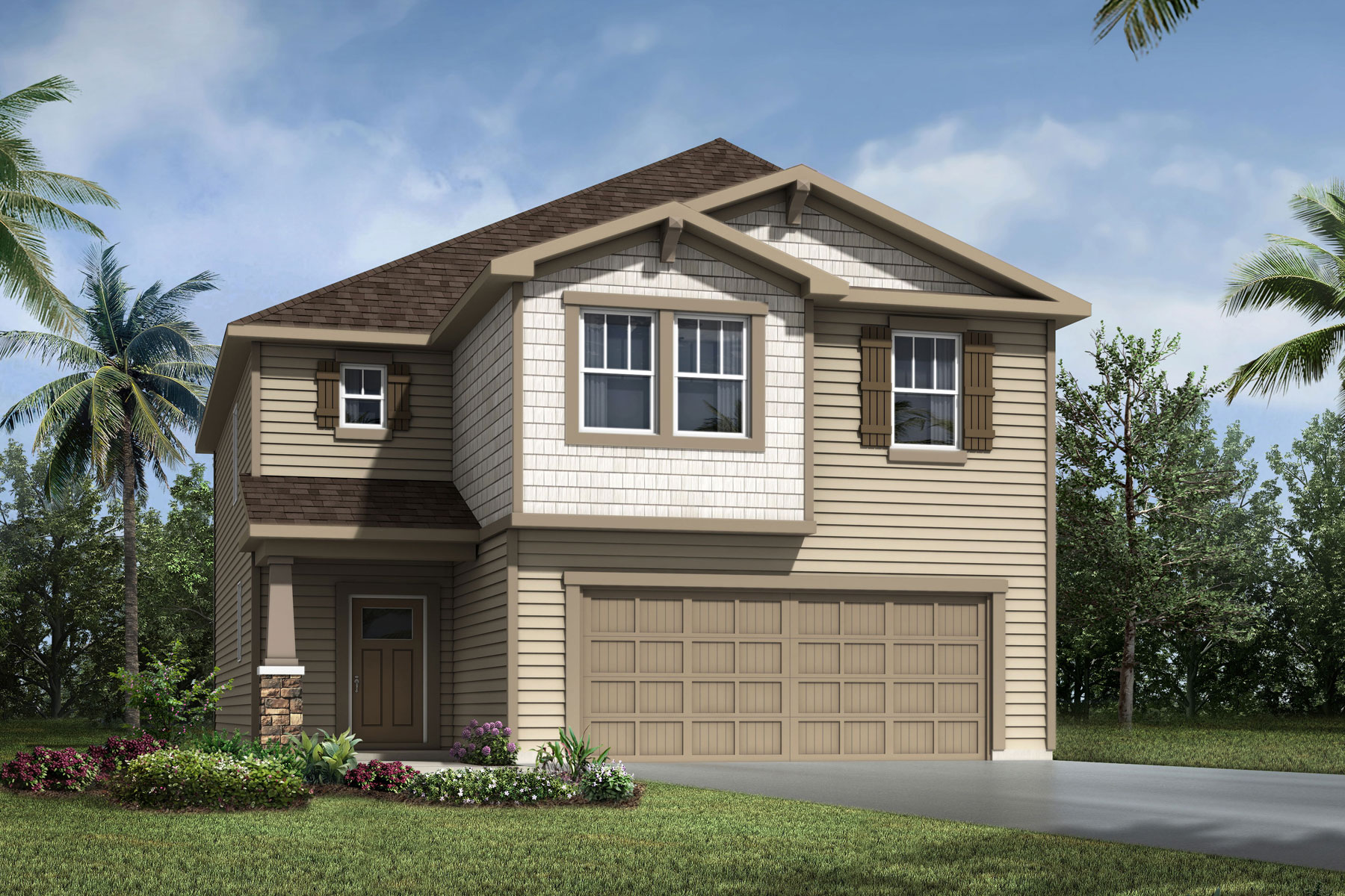 Barron Plan Elevation Front at RiverTown - Haven in St. Johns Florida by Mattamy Homes