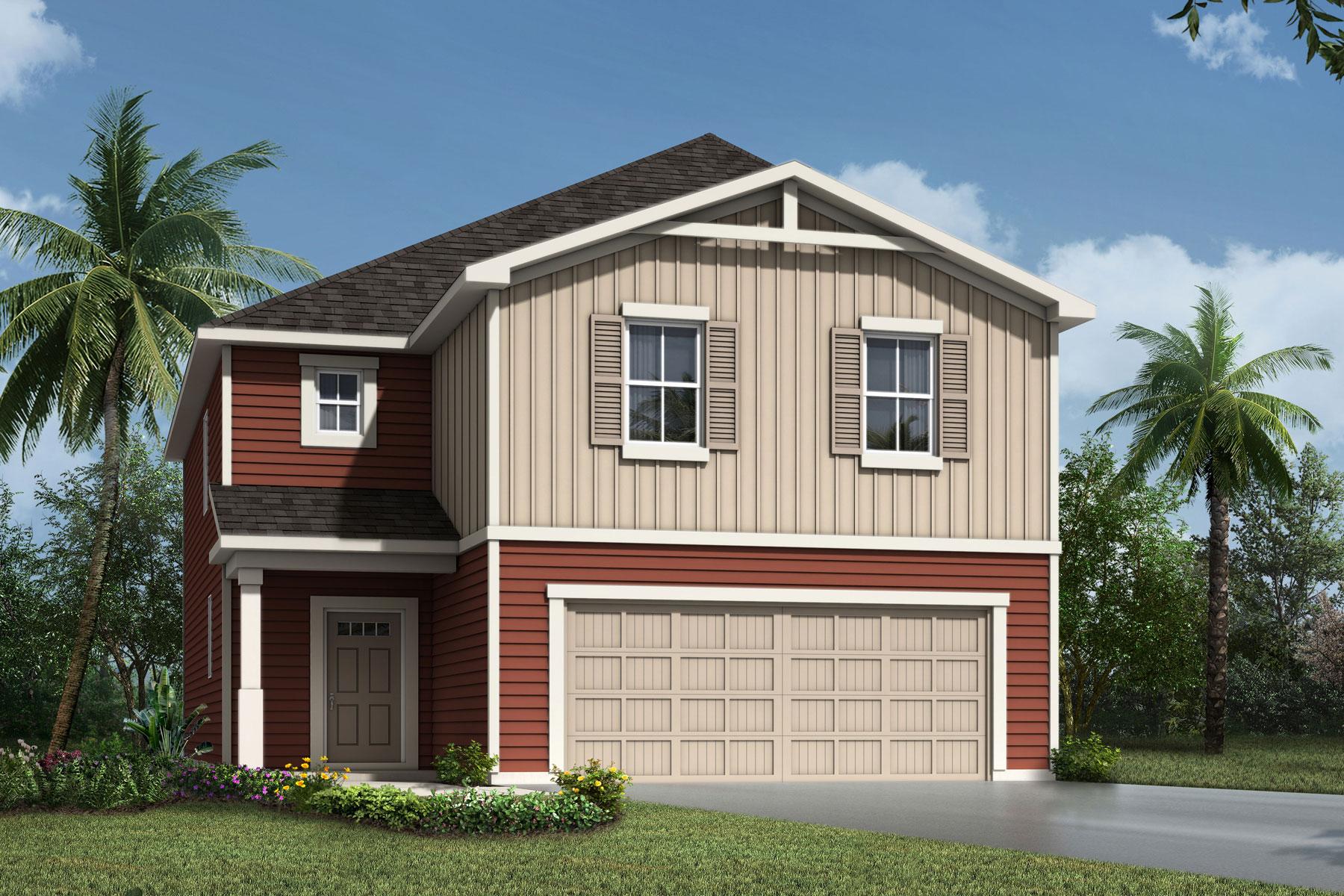 Sebastian Plan Elevation Front at RiverTown - Haven in St. Johns Florida by Mattamy Homes