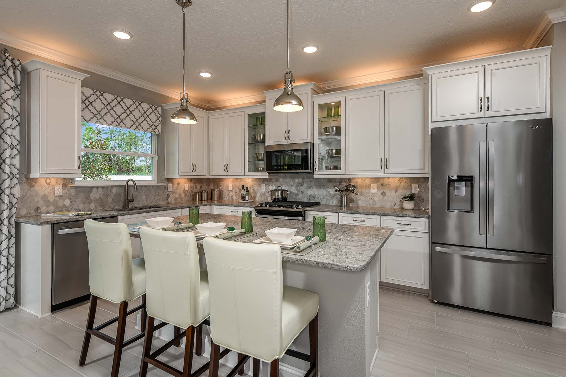 Turner Plan Kitchen at RiverTown - Haven in St. Johns Florida by Mattamy Homes
