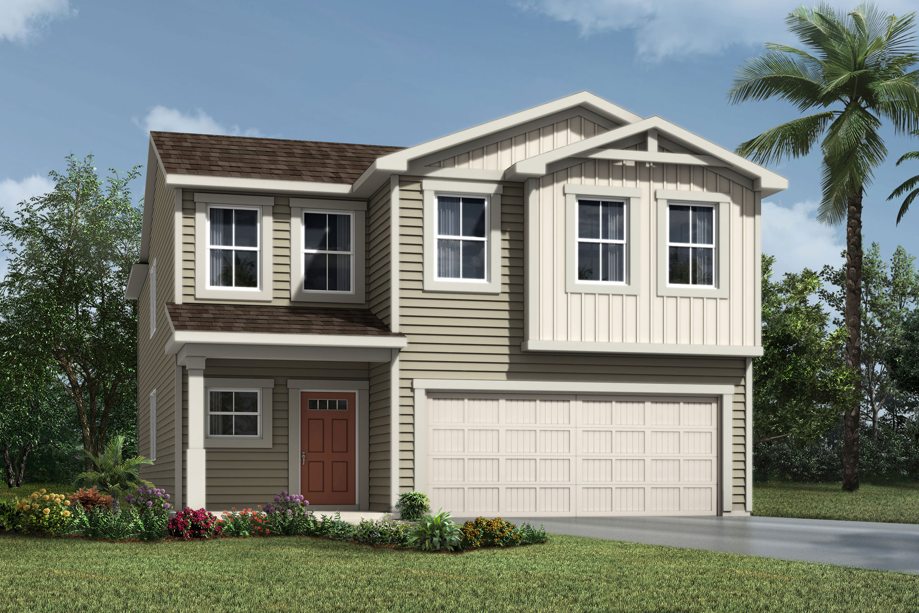 Whitney Plan jax_whitney_farmhouse at RiverTown - Haven in St. Johns Florida by Mattamy Homes