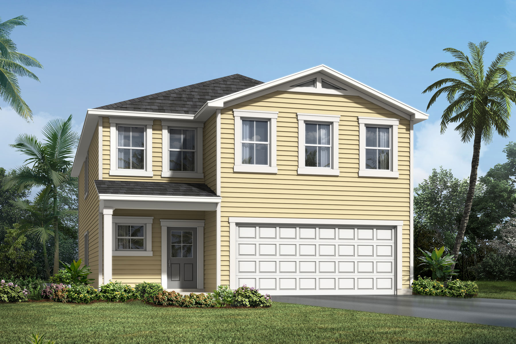 Whitney Plan s30e-whitney-lc-4800 at RiverTown - Haven in St. Johns Florida by Mattamy Homes