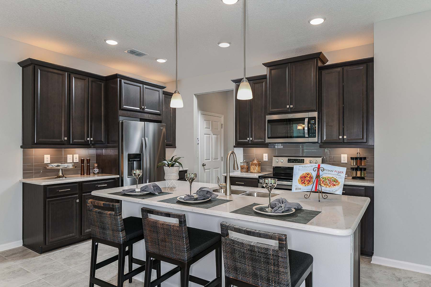 Whitney Plan Kitchen at RiverTown - Haven in St. Johns Florida by Mattamy Homes