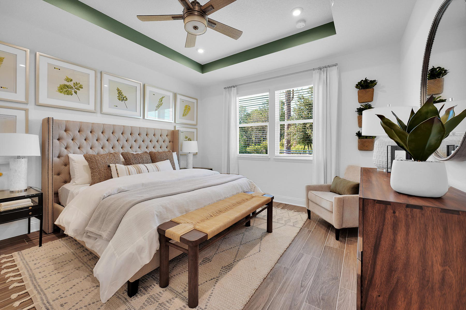 Pablo Cove Bedroom in Jacksonville Florida by Mattamy Homes