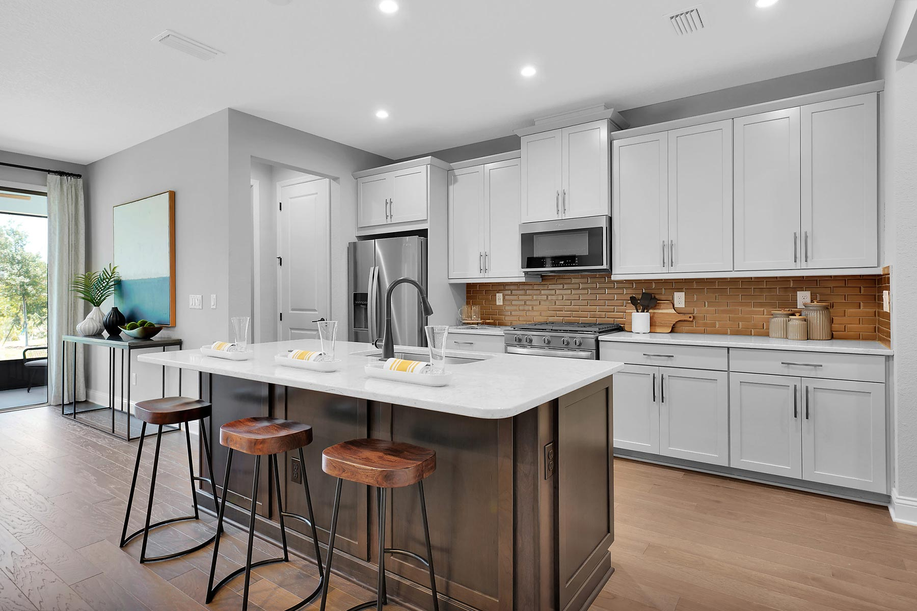 Pablo Cove Kitchen in Jacksonville Florida by Mattamy Homes