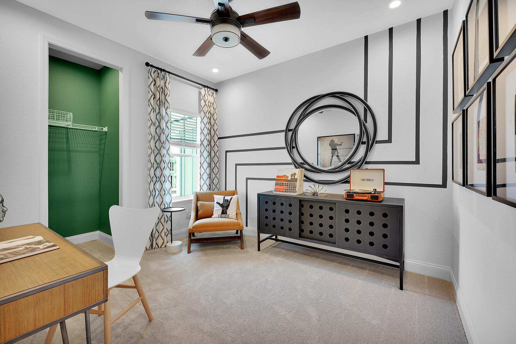 Pablo Cove Study Room in Jacksonville Florida by Mattamy Homes