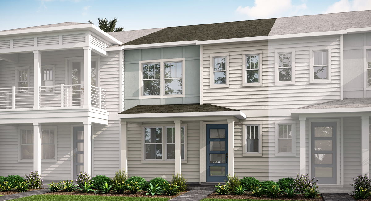 Waverly Plan elevationcoastala_pablocove_isla at Pablo Cove in Jacksonville Florida by Mattamy Homes