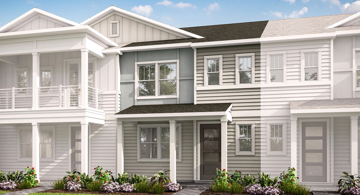 Isla Plan elevationcoastalb_pablocove_isla at Pablo Cove in Jacksonville Florida by Mattamy Homes