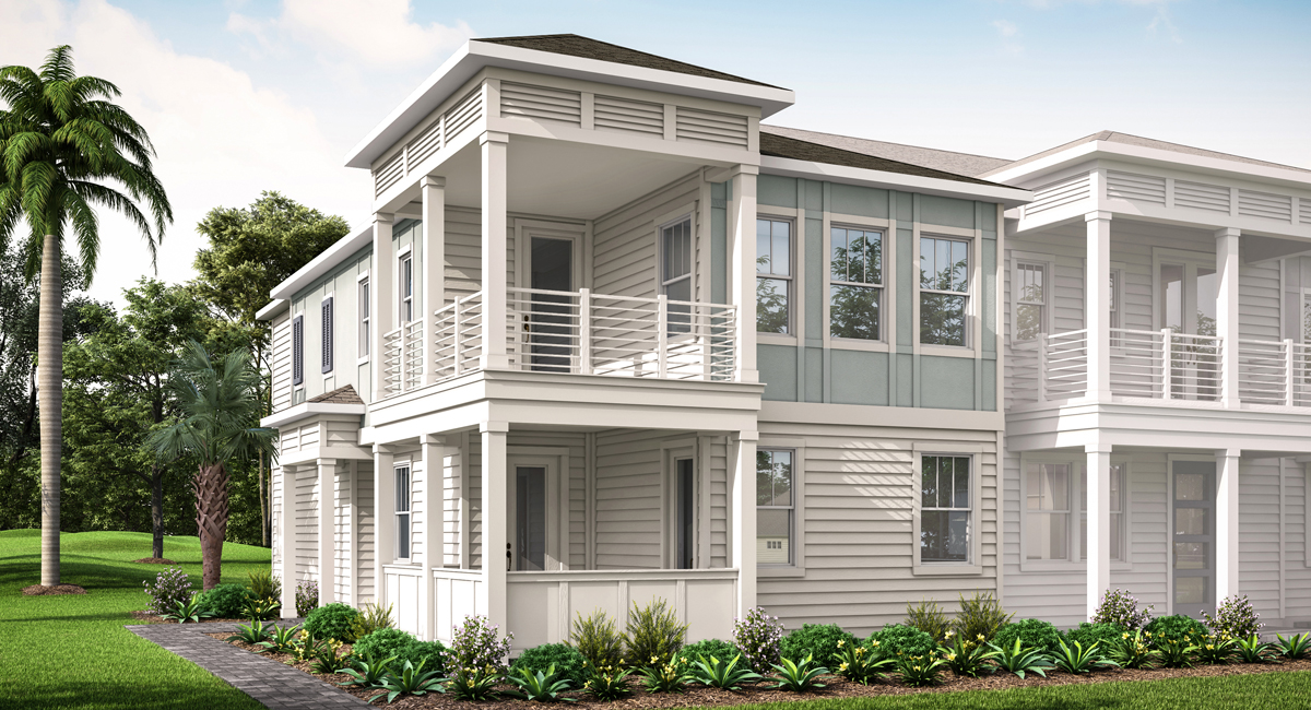 Kai Plan Elevation Front at Pablo Cove in Jacksonville Florida by Mattamy Homes