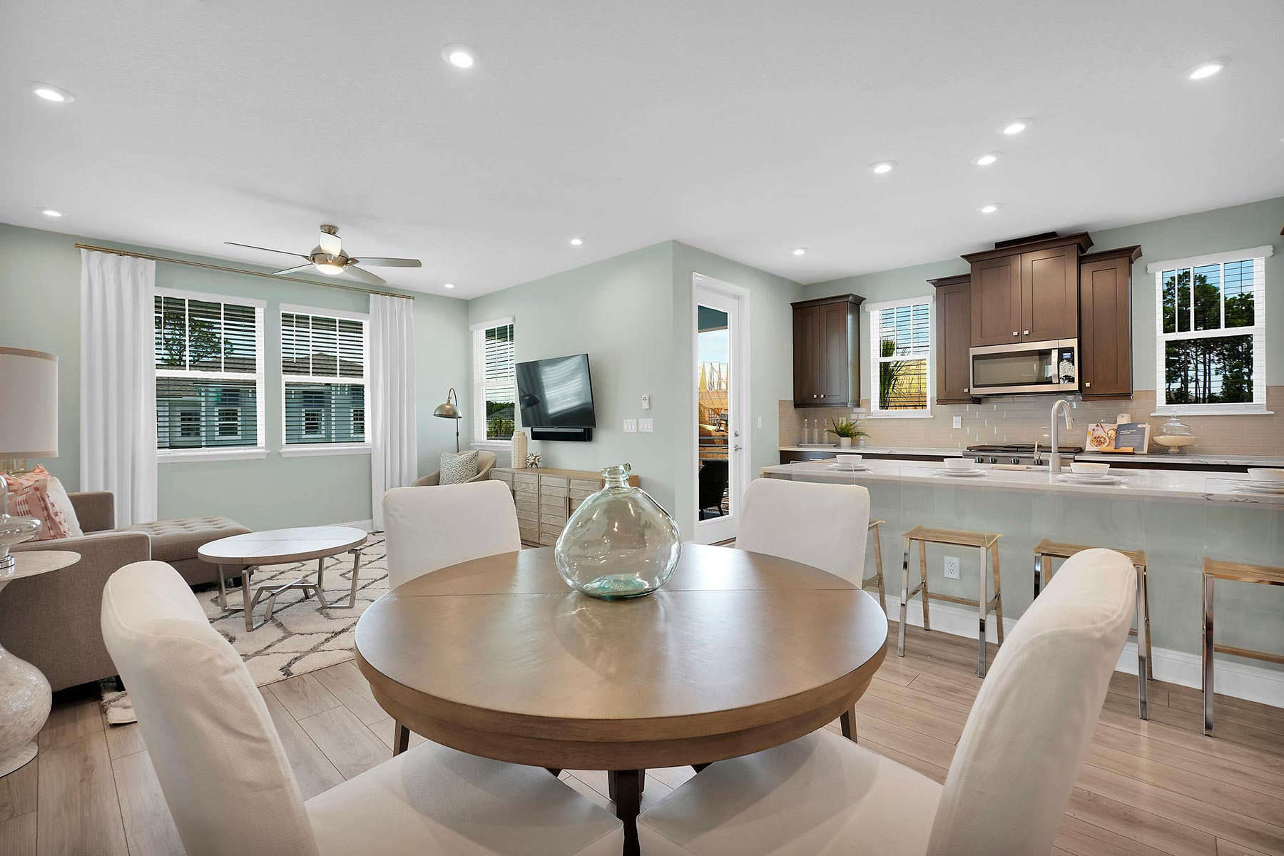 Kai Plan Dining at Pablo Cove in Jacksonville Florida by Mattamy Homes