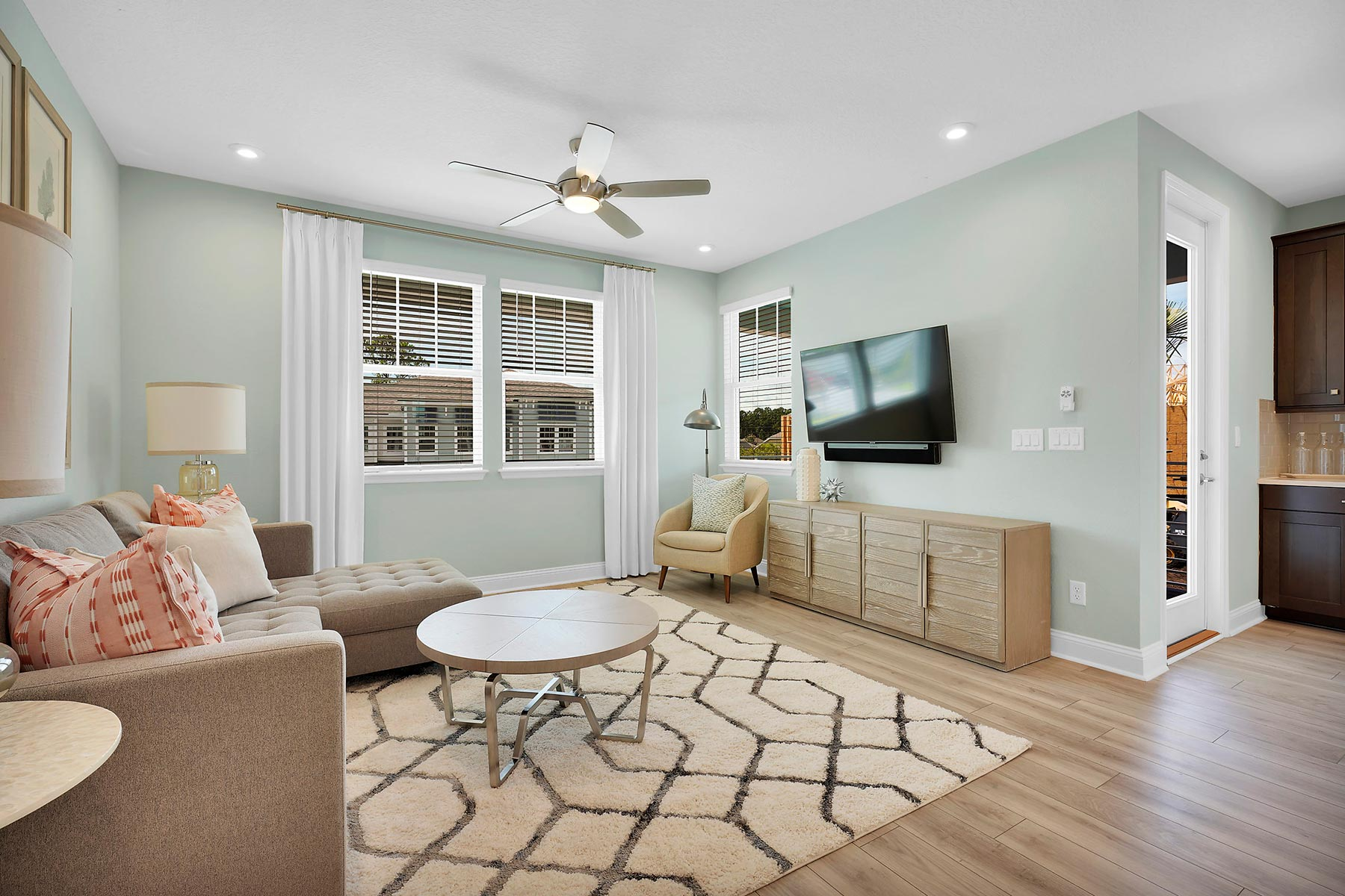 Kai Plan Greatroom at Pablo Cove in Jacksonville Florida by Mattamy Homes