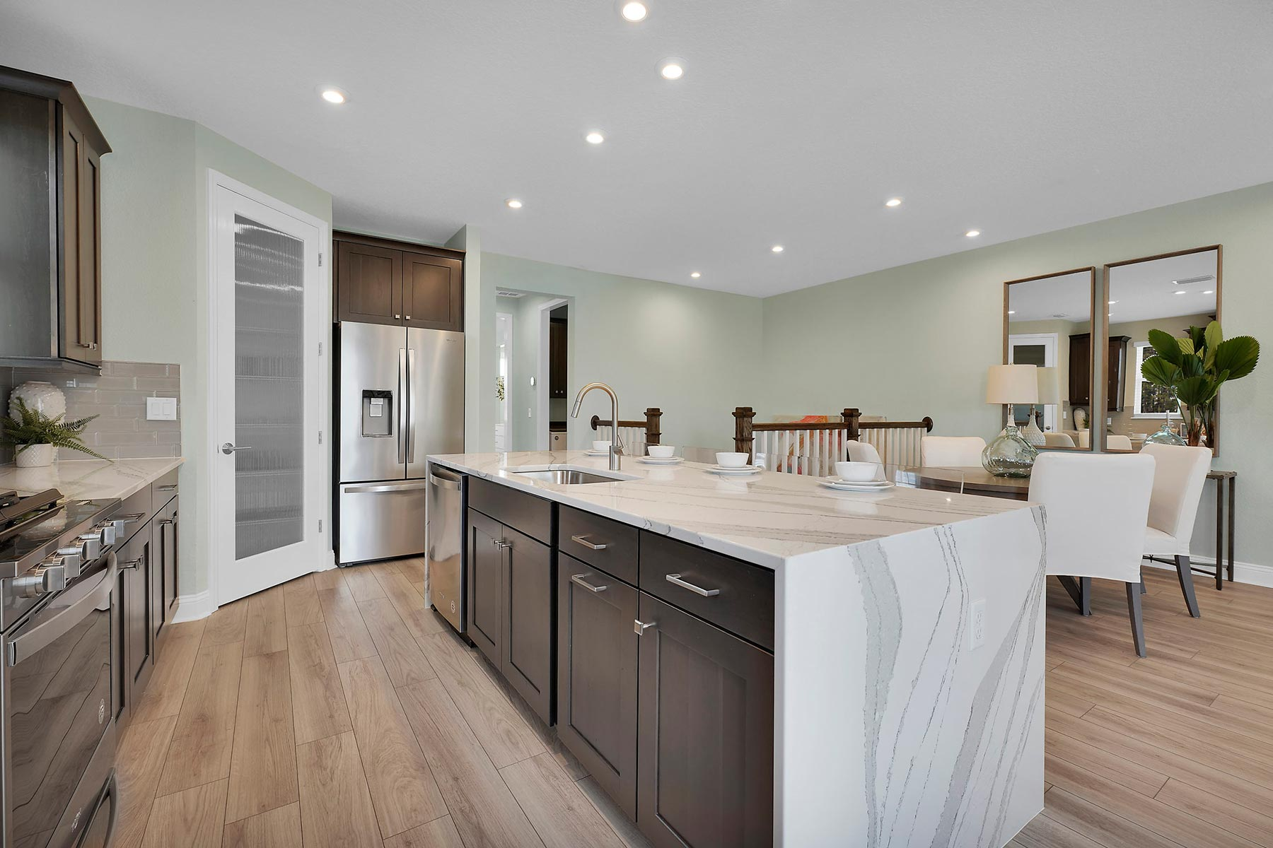Kai Plan Kitchen at Pablo Cove in Jacksonville Florida by Mattamy Homes