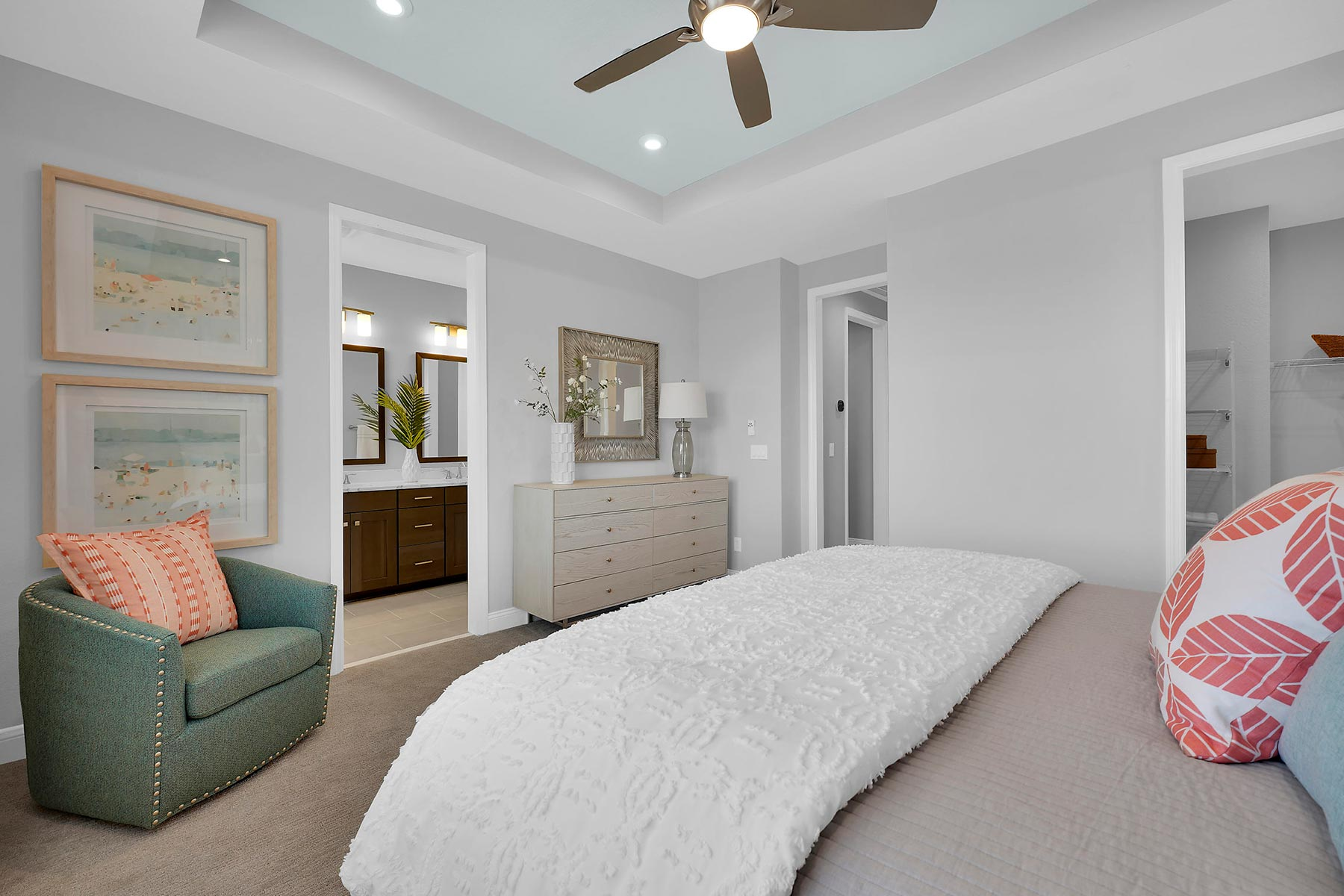 Kai Plan Bedroom at Pablo Cove in Jacksonville Florida by Mattamy Homes