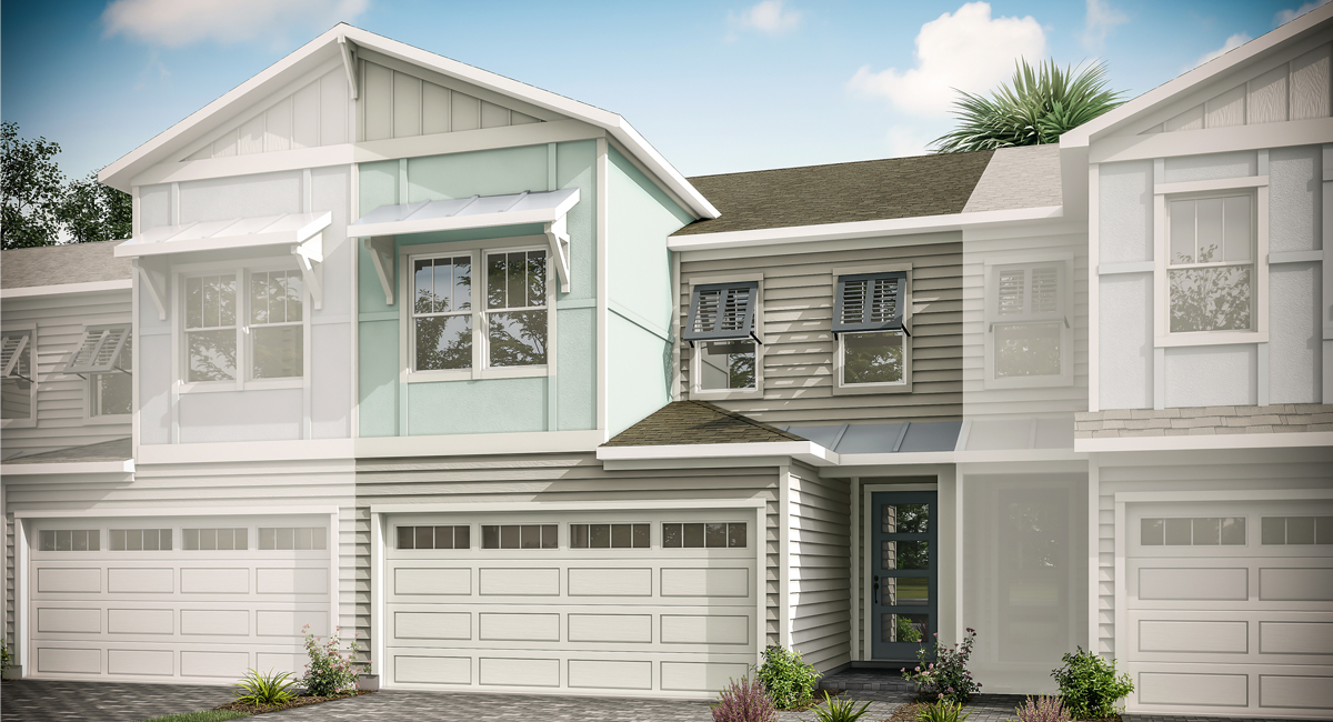 Neptune Plan ElevationCoastalB_PabloCove_Neptune_1200x650_Main at Pablo Cove in Jacksonville Florida by Mattamy Homes
