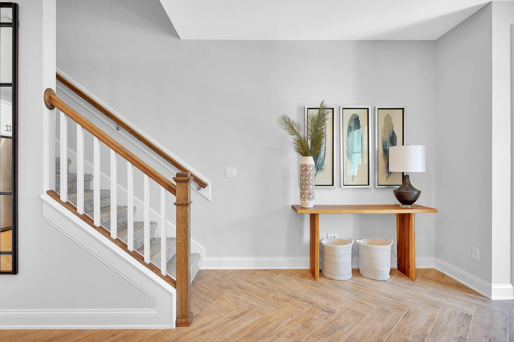 Rialta Plan Foyer at Pablo Cove in Jacksonville Florida by Mattamy Homes