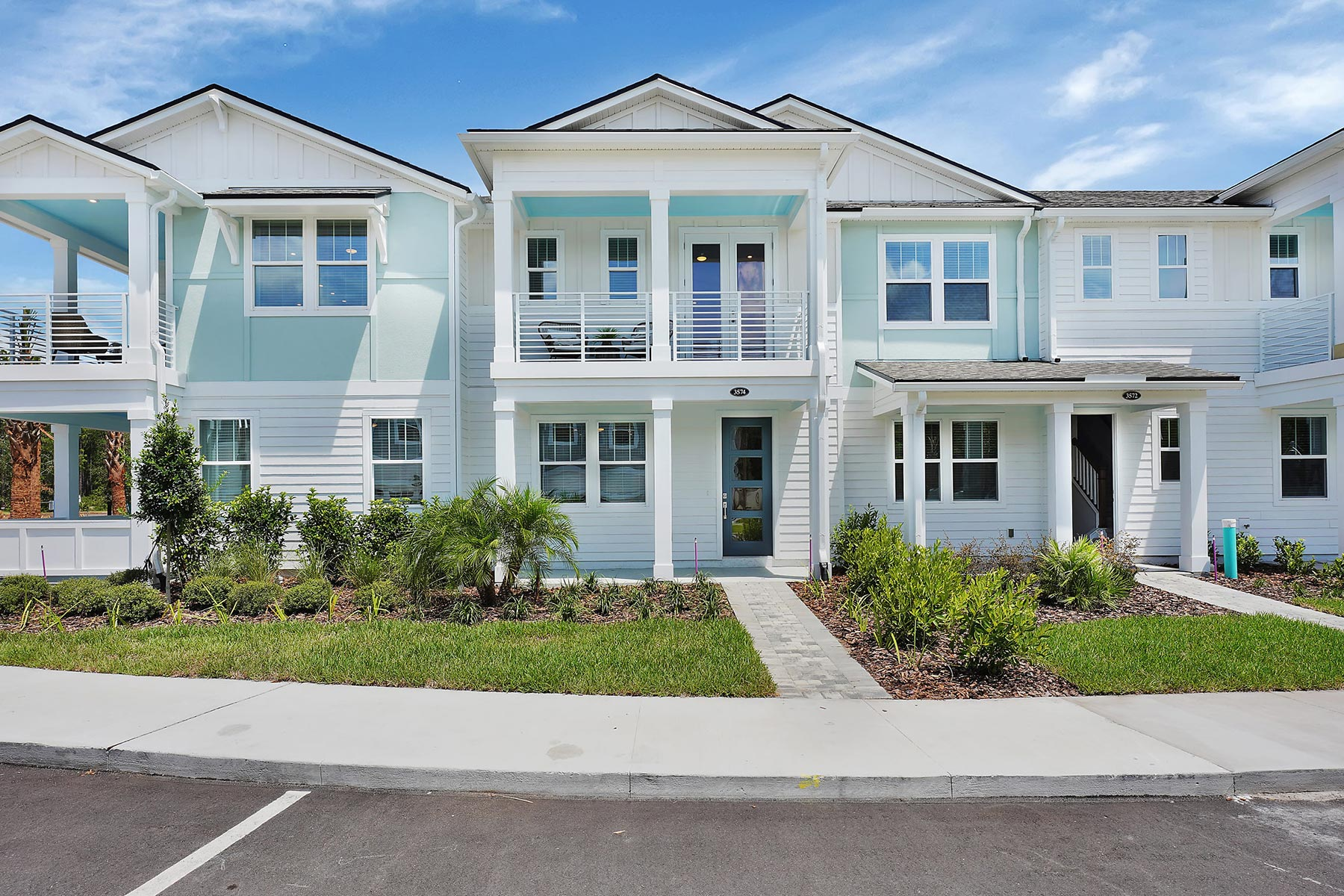 Rialta Plan Elevation Front at Pablo Cove in Jacksonville Florida by Mattamy Homes