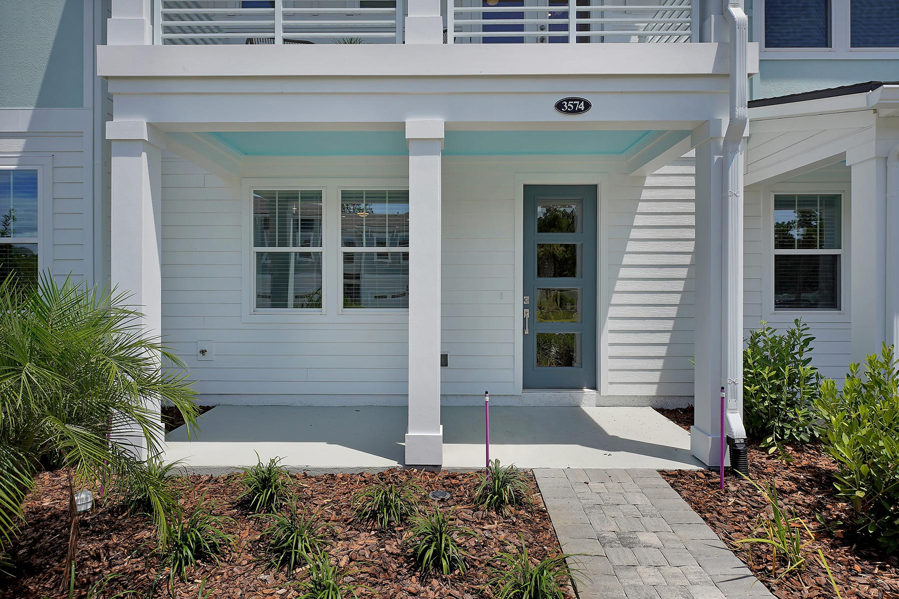 Rialta Plan Front Porch at Pablo Cove in Jacksonville Florida by Mattamy Homes