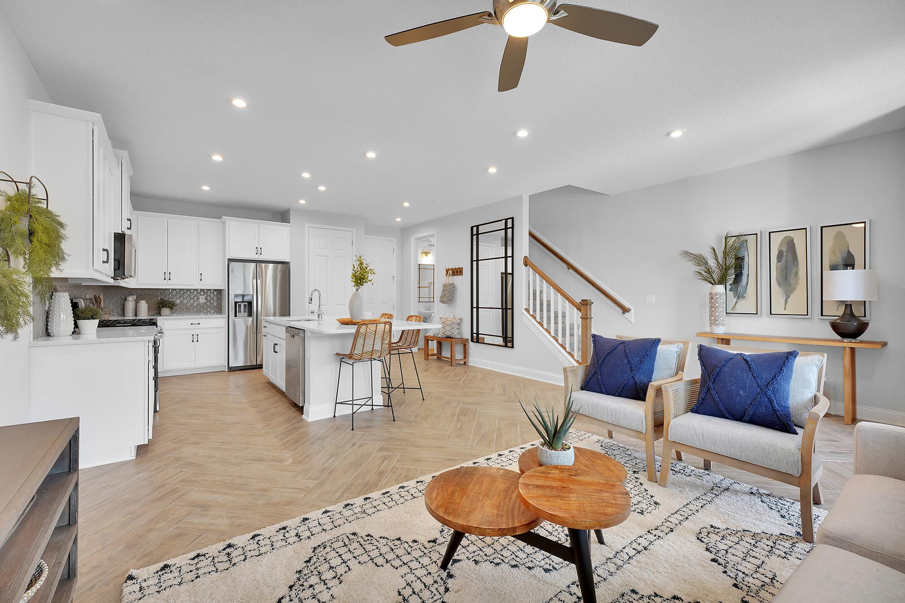 Rialta Plan Greatroom at Pablo Cove in Jacksonville Florida by Mattamy Homes