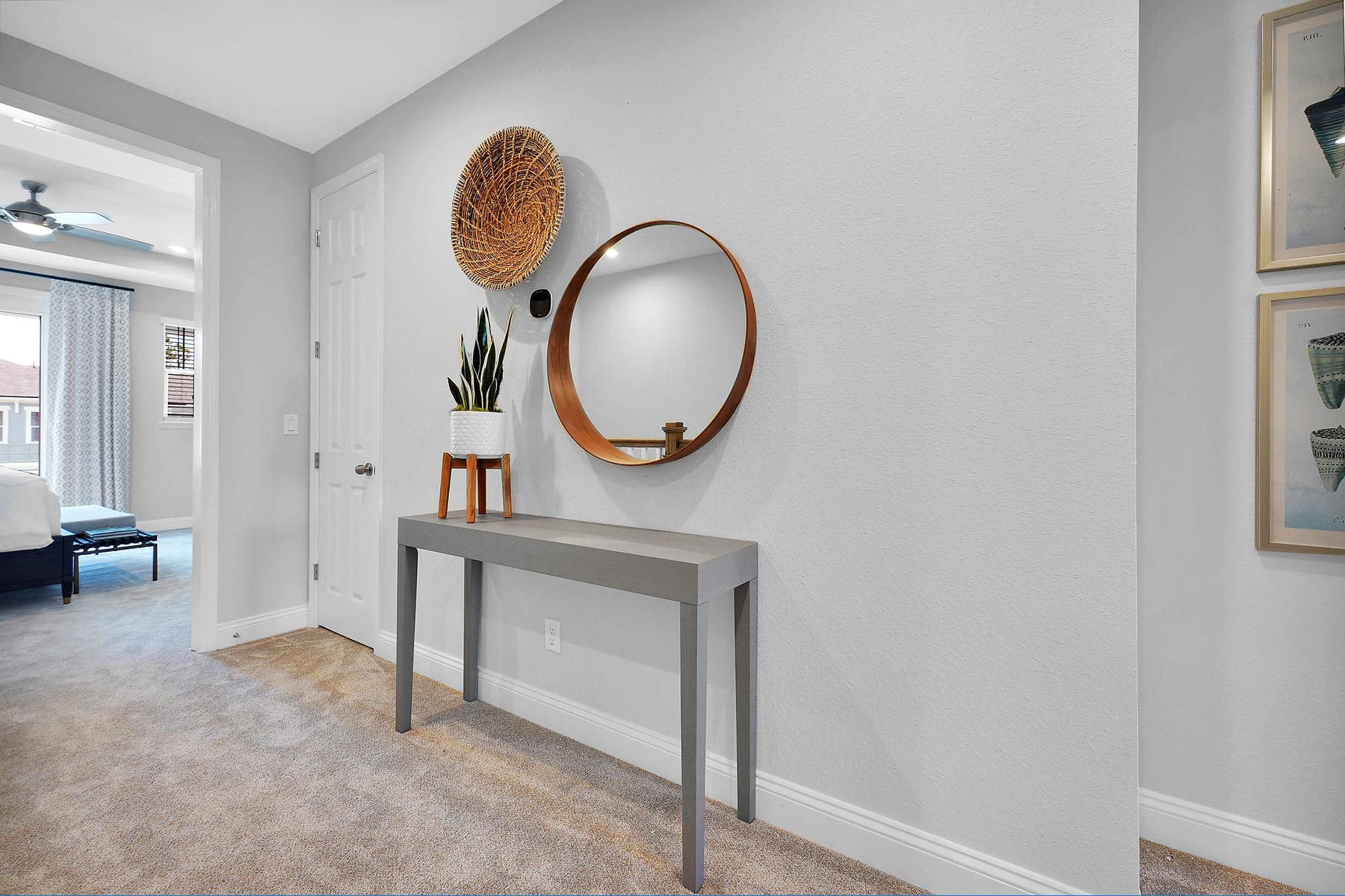 Rialta Plan Hallway at Pablo Cove in Jacksonville Florida by Mattamy Homes