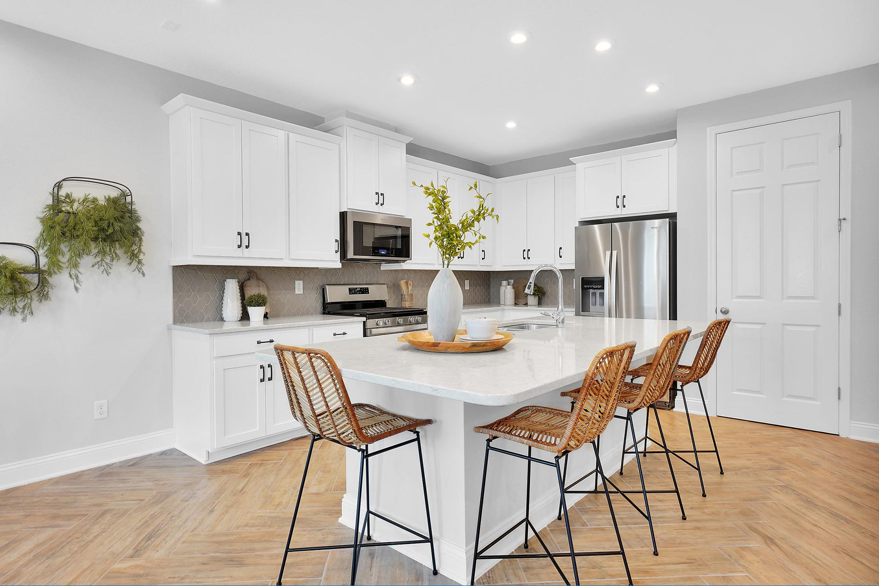Rialta Plan Kitchen at Pablo Cove in Jacksonville Florida by Mattamy Homes
