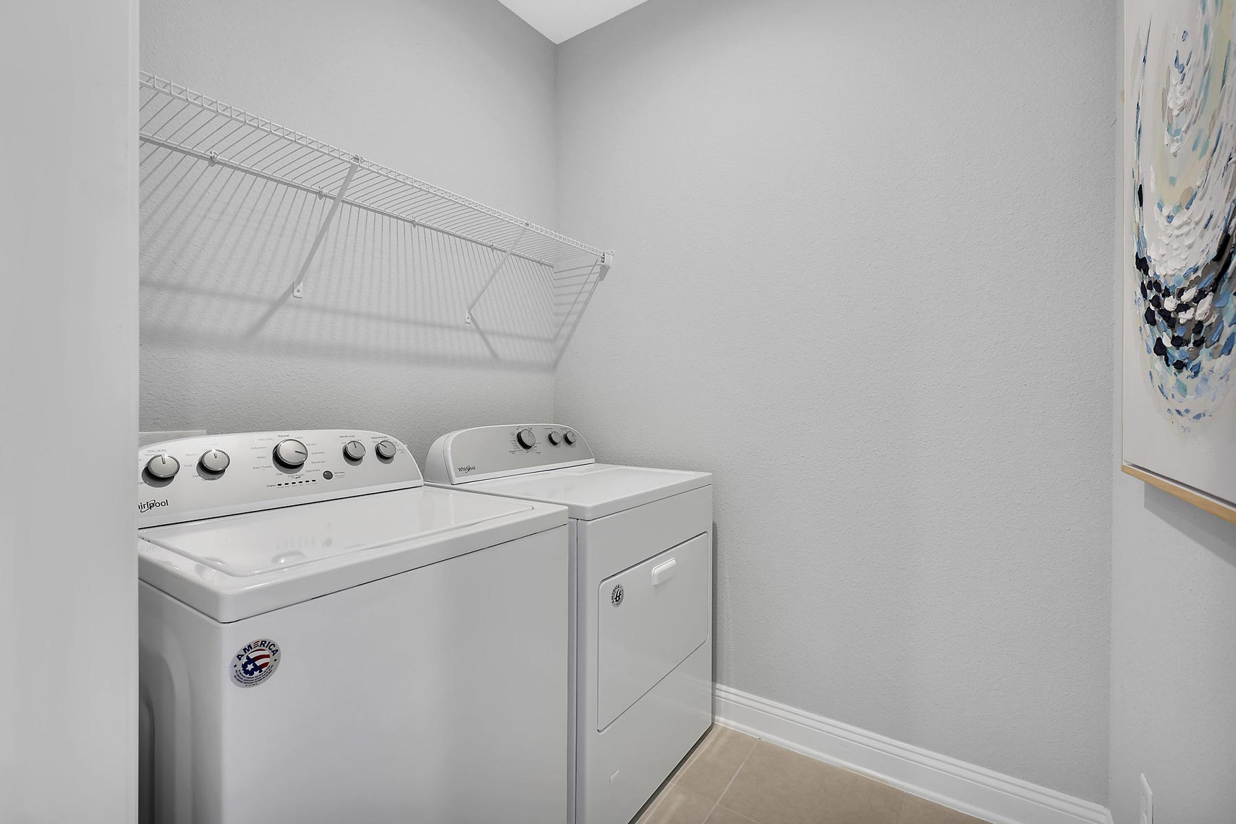 Rialta Plan Laundry at Pablo Cove in Jacksonville Florida by Mattamy Homes