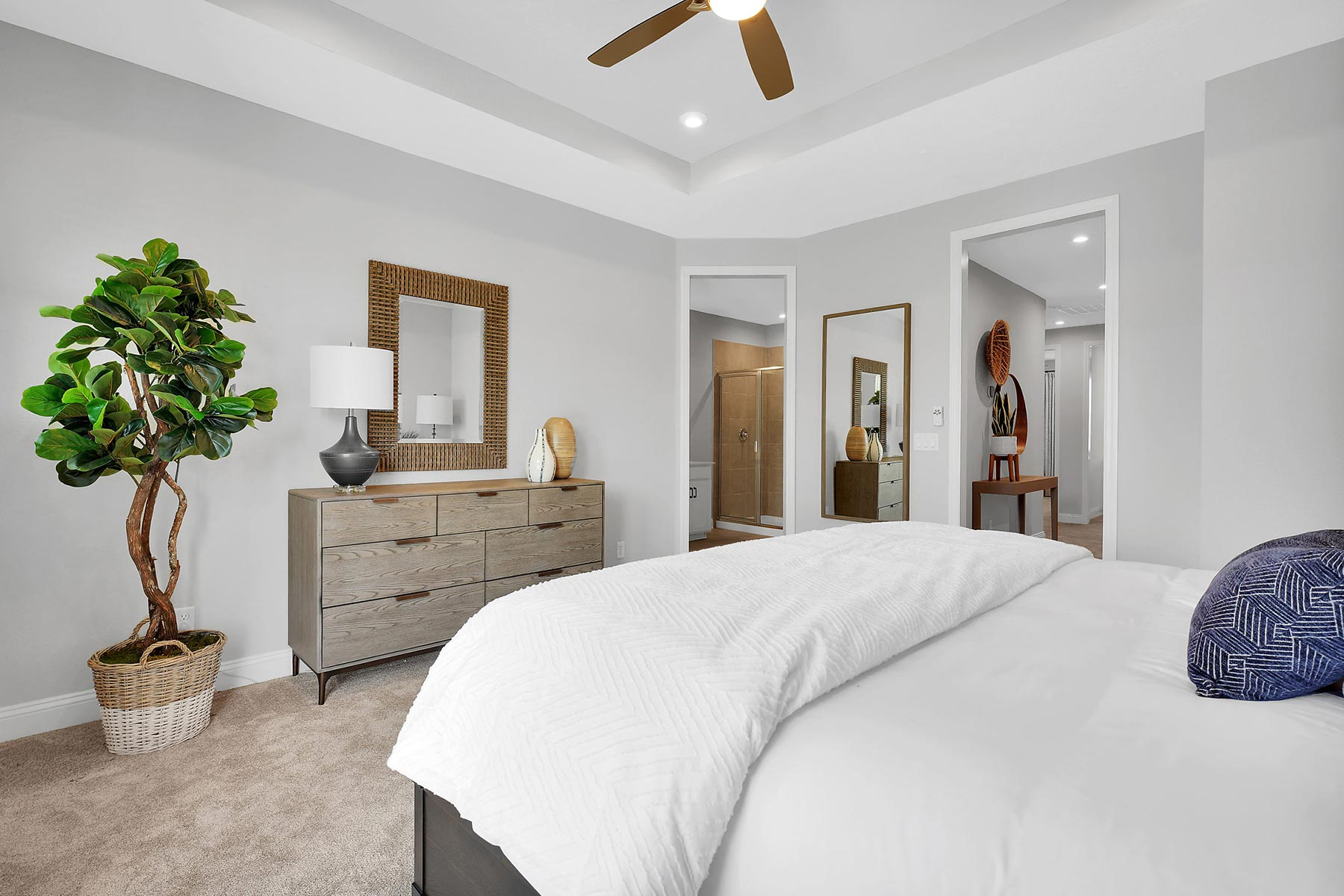 Rialta Plan Bedroom at Pablo Cove in Jacksonville Florida by Mattamy Homes