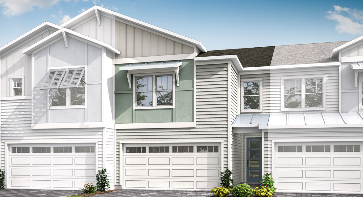Talise Plan ElevationCoastalA_PabloCove_Talise_1200x650_Main at Pablo Cove in Jacksonville Florida by Mattamy Homes