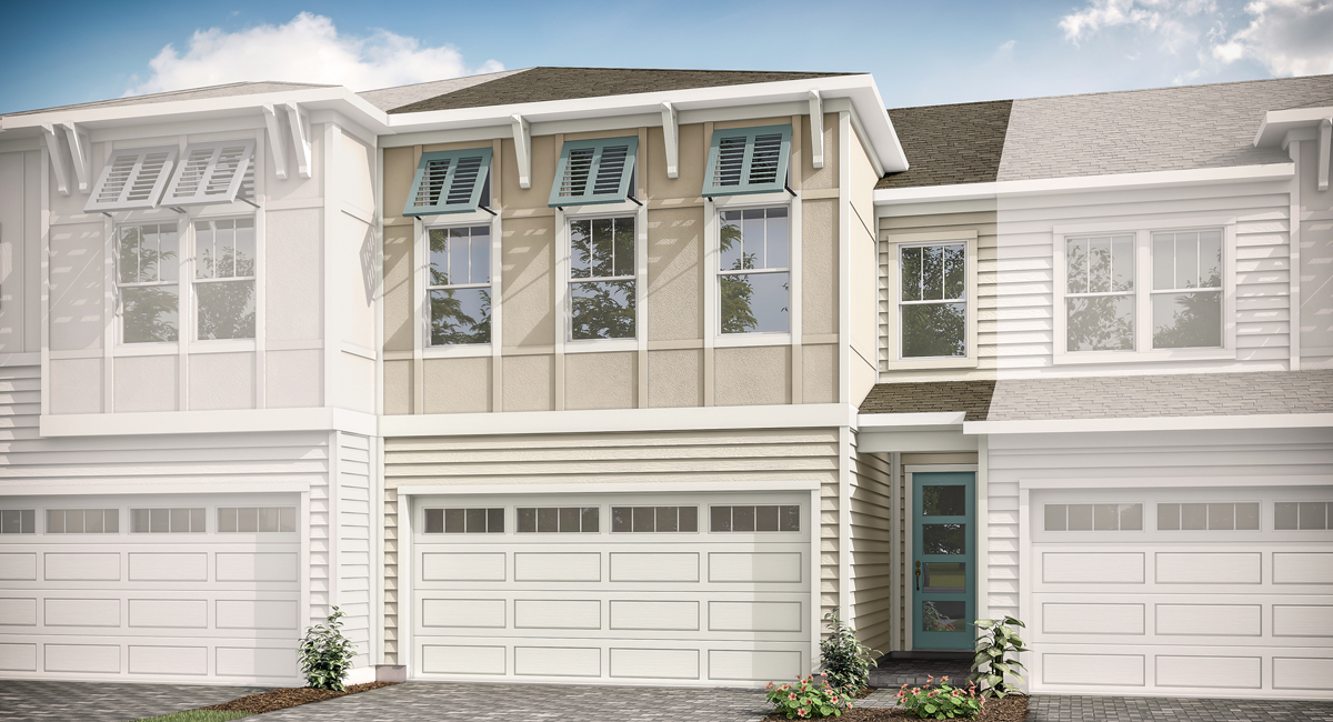 Talise Plan TownHomes at Pablo Cove in Jacksonville Florida by Mattamy Homes