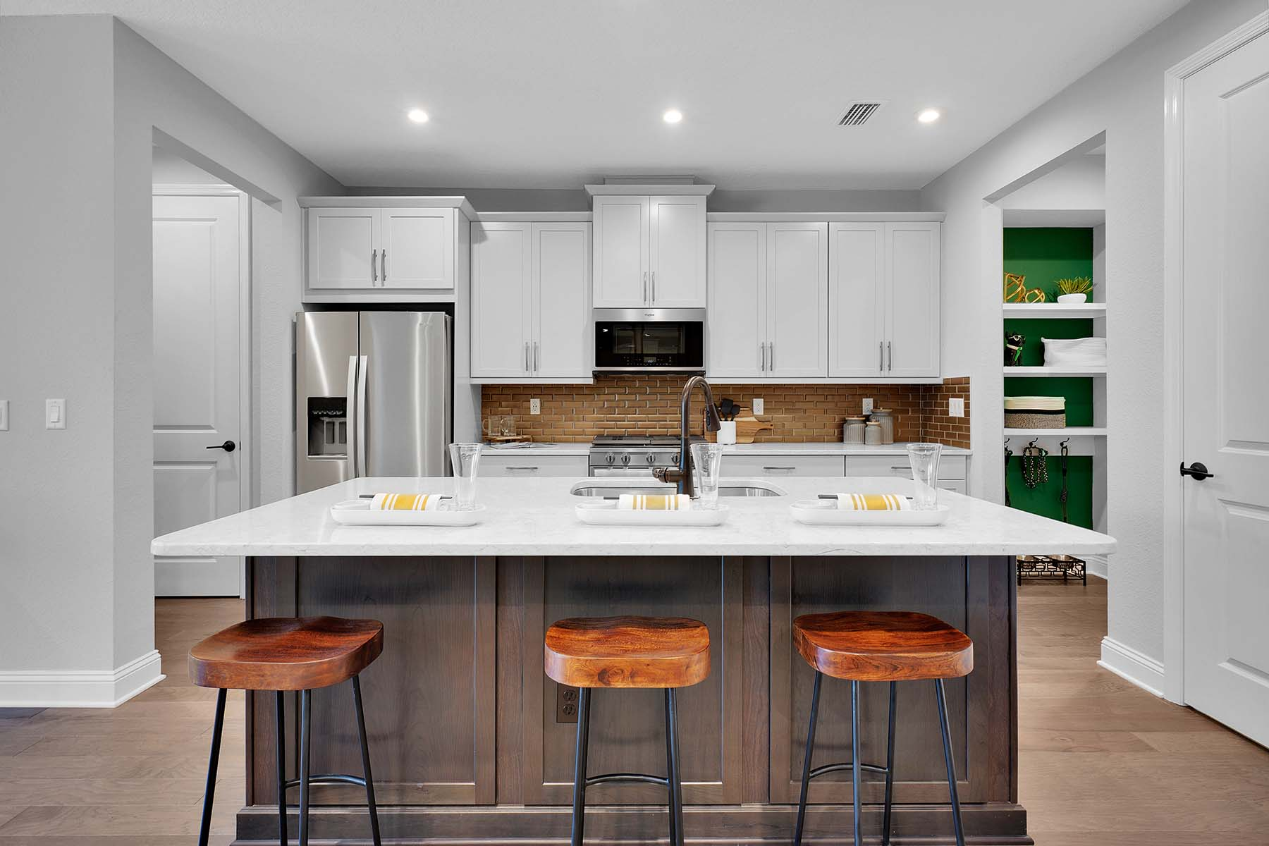 Destan Plan Kitchen at Pablo Cove in Jacksonville Florida by Mattamy Homes
