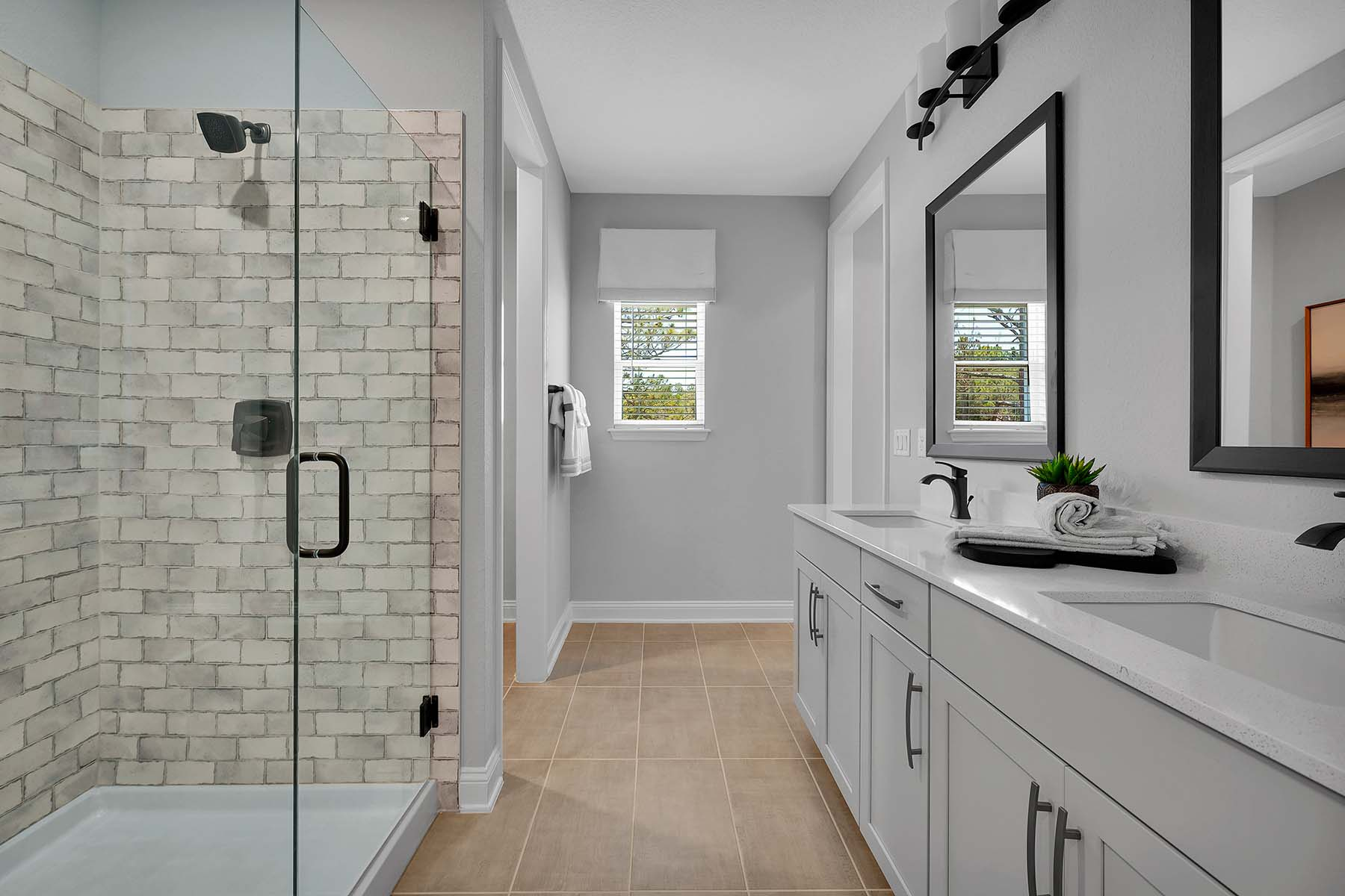 Talise Plan Bathroom_Master Bath at Pablo Cove in Jacksonville Florida by Mattamy Homes