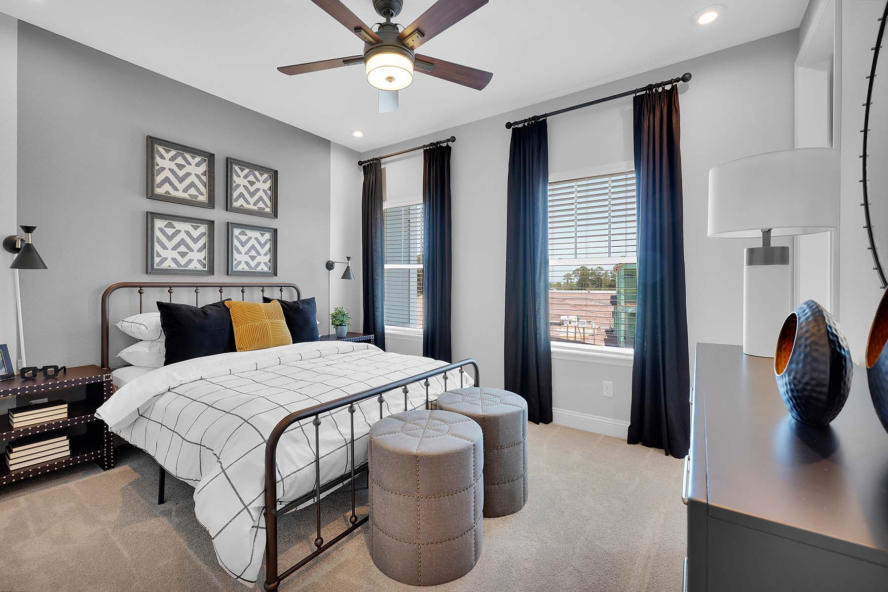 Talise Plan Bedroom at Pablo Cove in Jacksonville Florida by Mattamy Homes