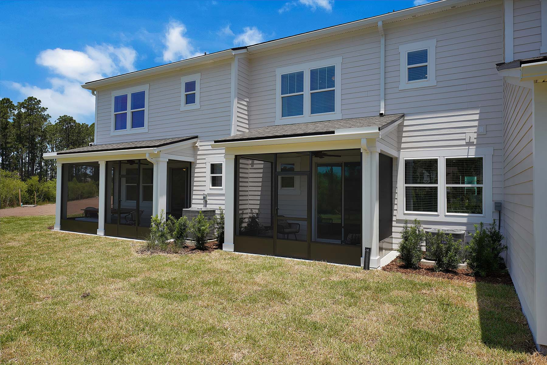 Talise Plan Elevation Back Side at Pablo Cove in Jacksonville Florida by Mattamy Homes