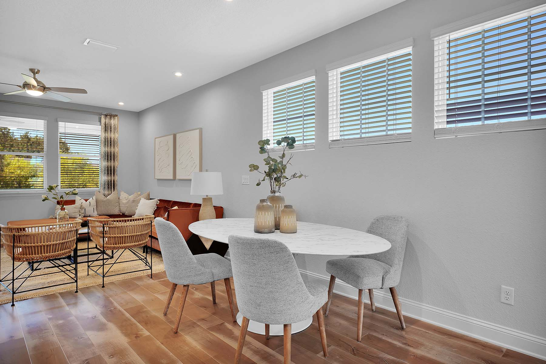 Waverly Plan Dining at Pablo Cove in Jacksonville Florida by Mattamy Homes