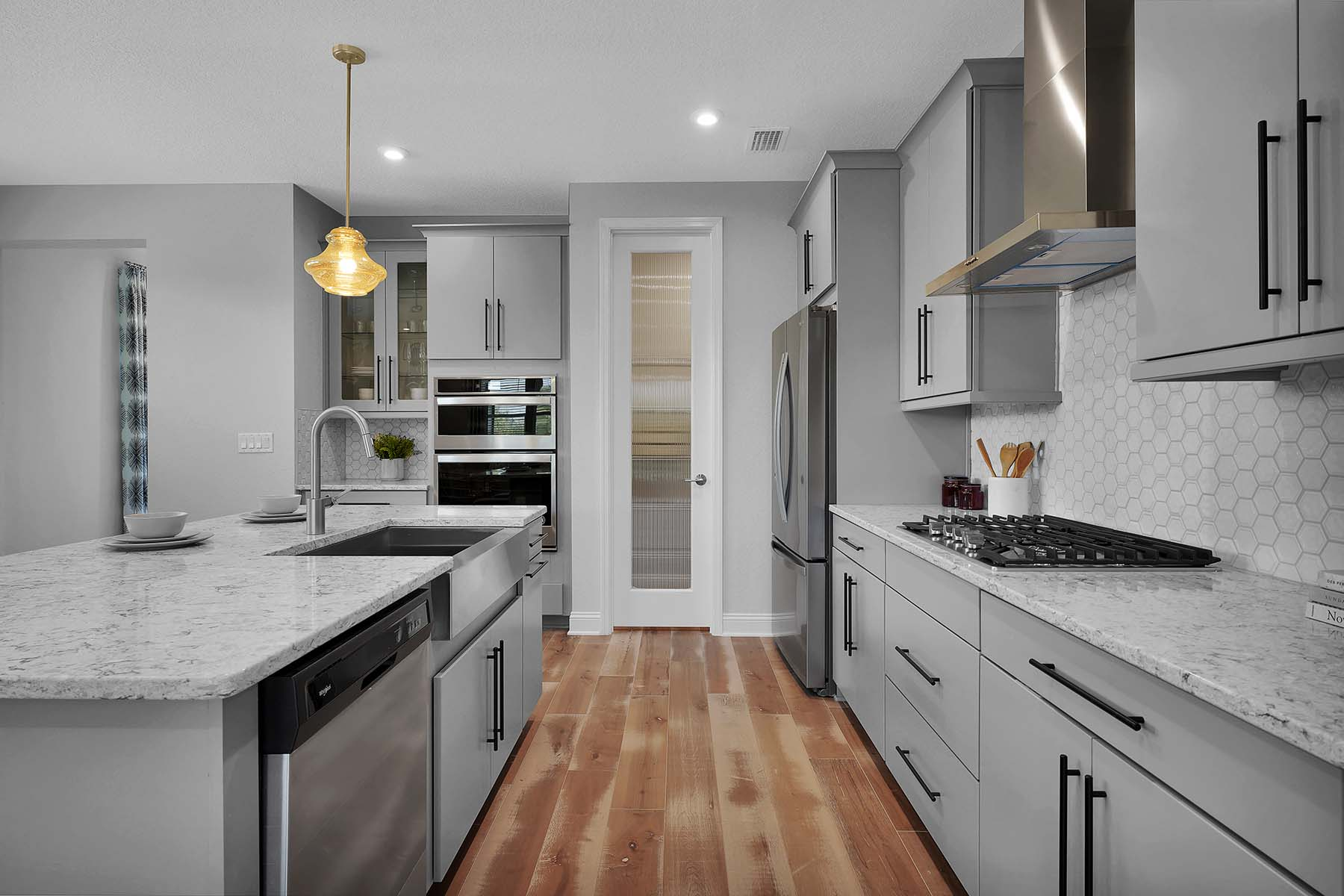 Waverly Plan Kitchen at Pablo Cove in Jacksonville Florida by Mattamy Homes