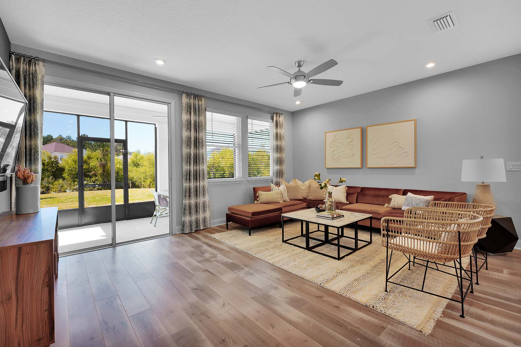 Waverly Plan Greatroom at Pablo Cove in Jacksonville Florida by Mattamy Homes