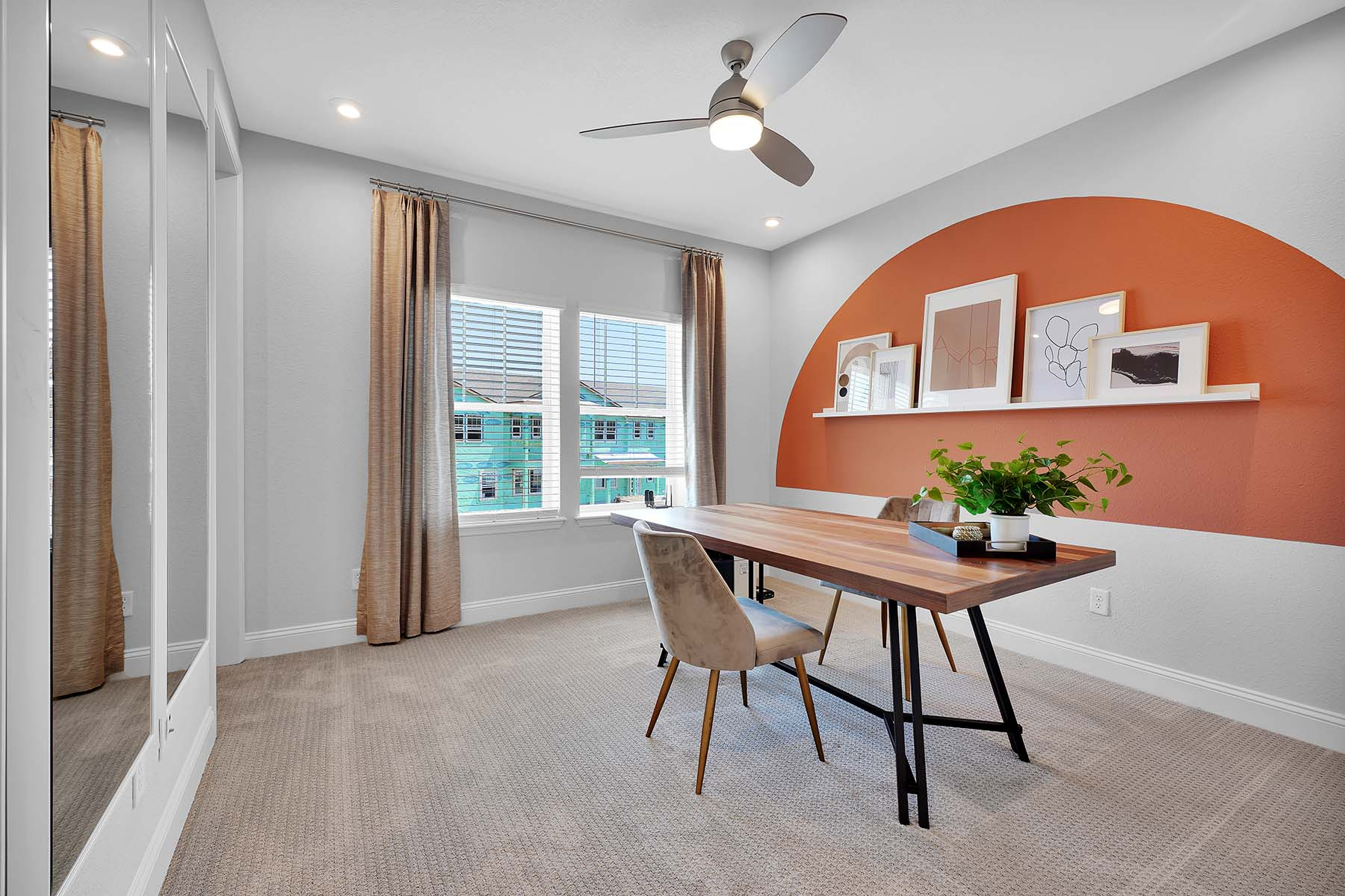 Waverly Plan Study Room at Pablo Cove in Jacksonville Florida by Mattamy Homes