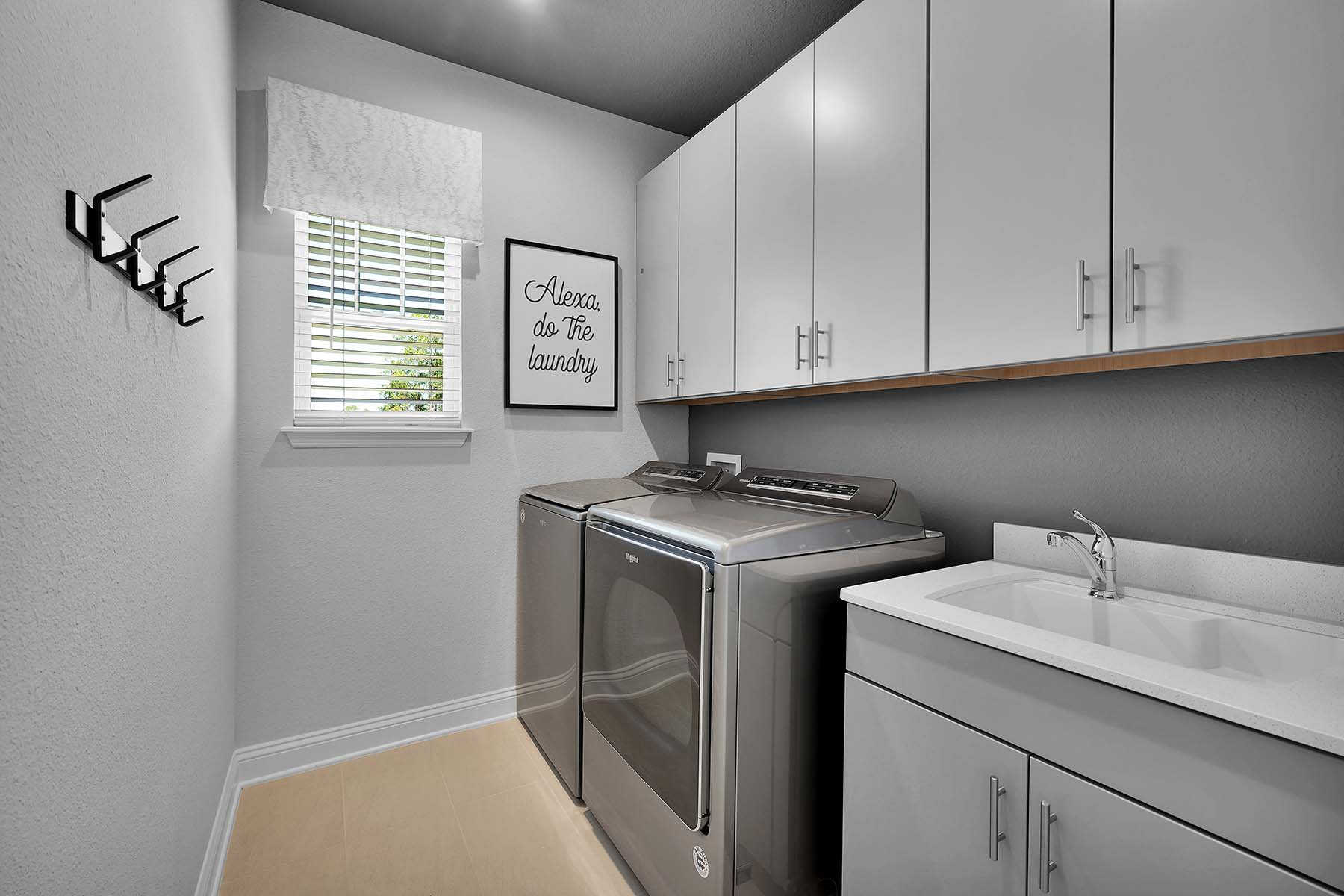 Waverly Plan Laundry at Pablo Cove in Jacksonville Florida by Mattamy Homes
