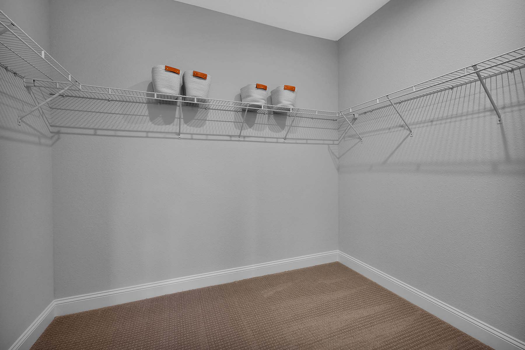 Waverly Plan Closet at Pablo Cove in Jacksonville Florida by Mattamy Homes