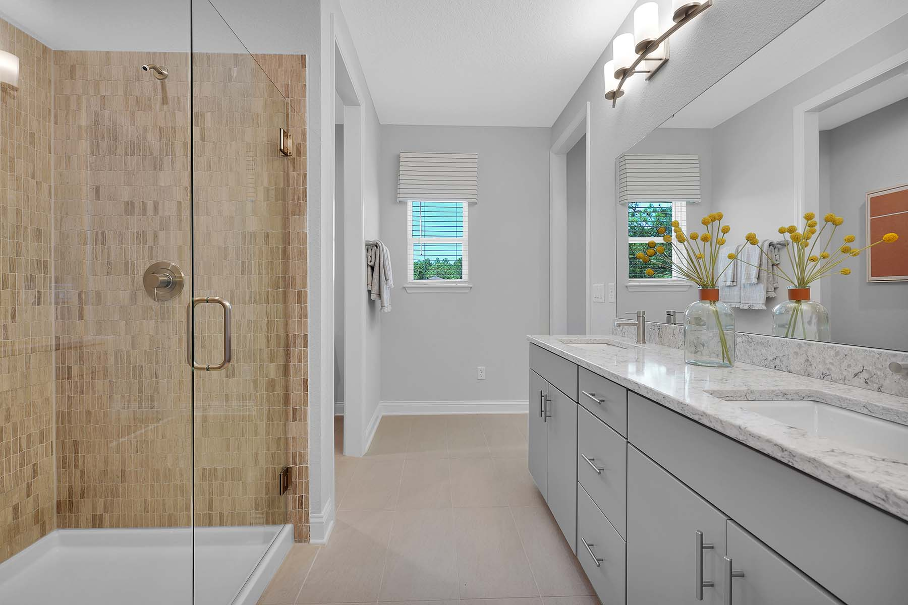 Waverly Plan Bathroom_Master Bath at Pablo Cove in Jacksonville Florida by Mattamy Homes