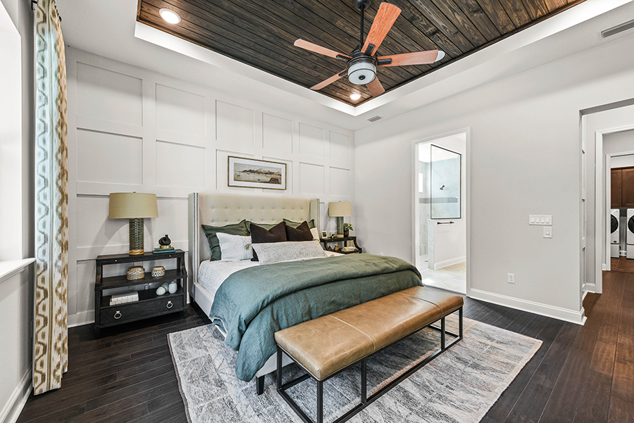 RiverTown - WaterSong Bedroom in St. Johns Florida by Mattamy Homes