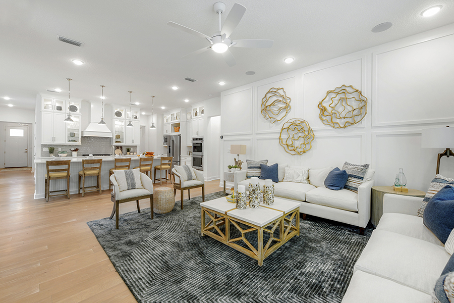 RiverTown - WaterSong Greatroom in St. Johns Florida by Mattamy Homes