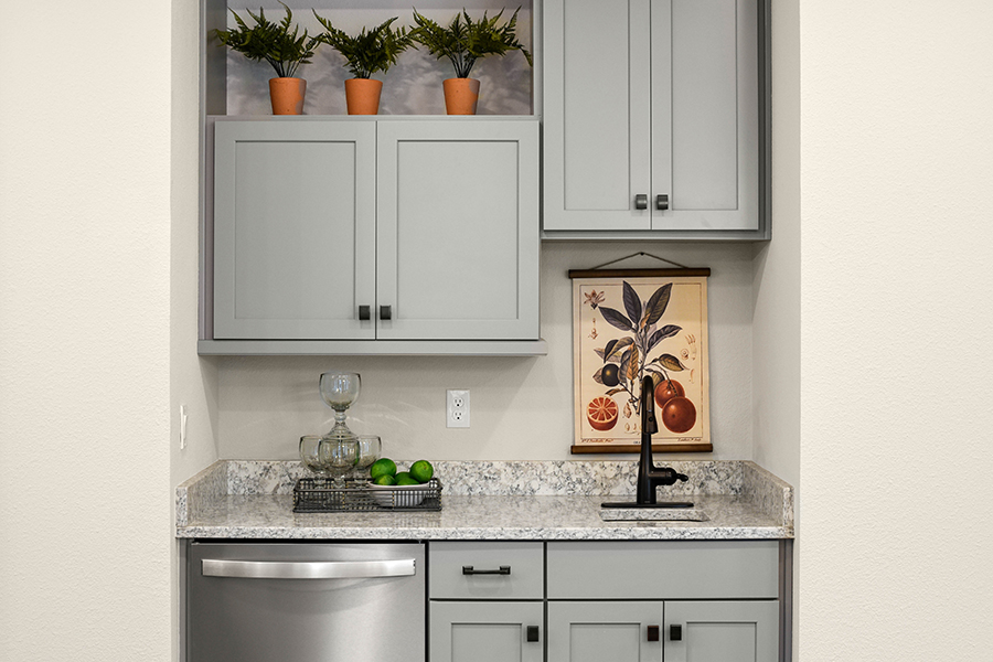 RiverTown - WaterSong Wet Bar in St. Johns Florida by Mattamy Homes
