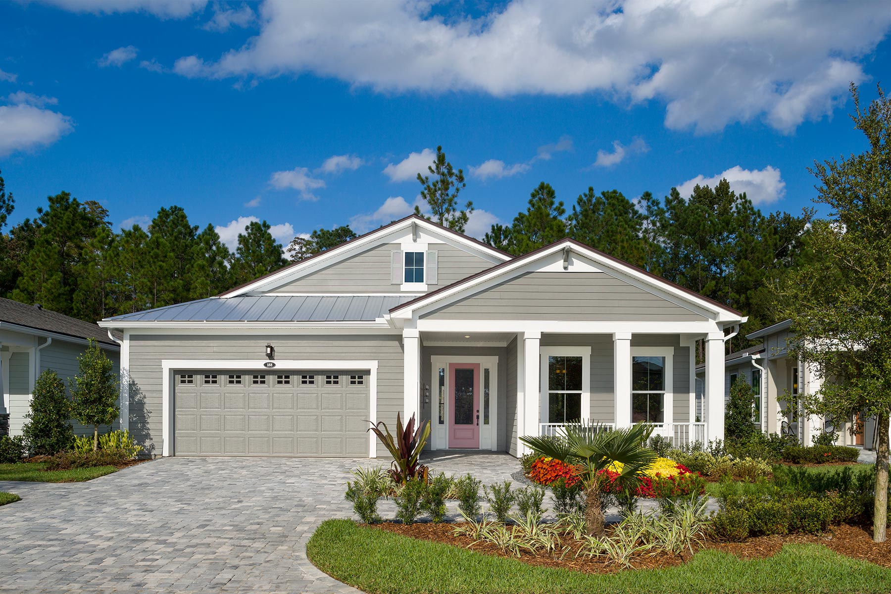 Bridge Plan Elevation Front at RiverTown - WaterSong in St. Johns Florida by Mattamy Homes