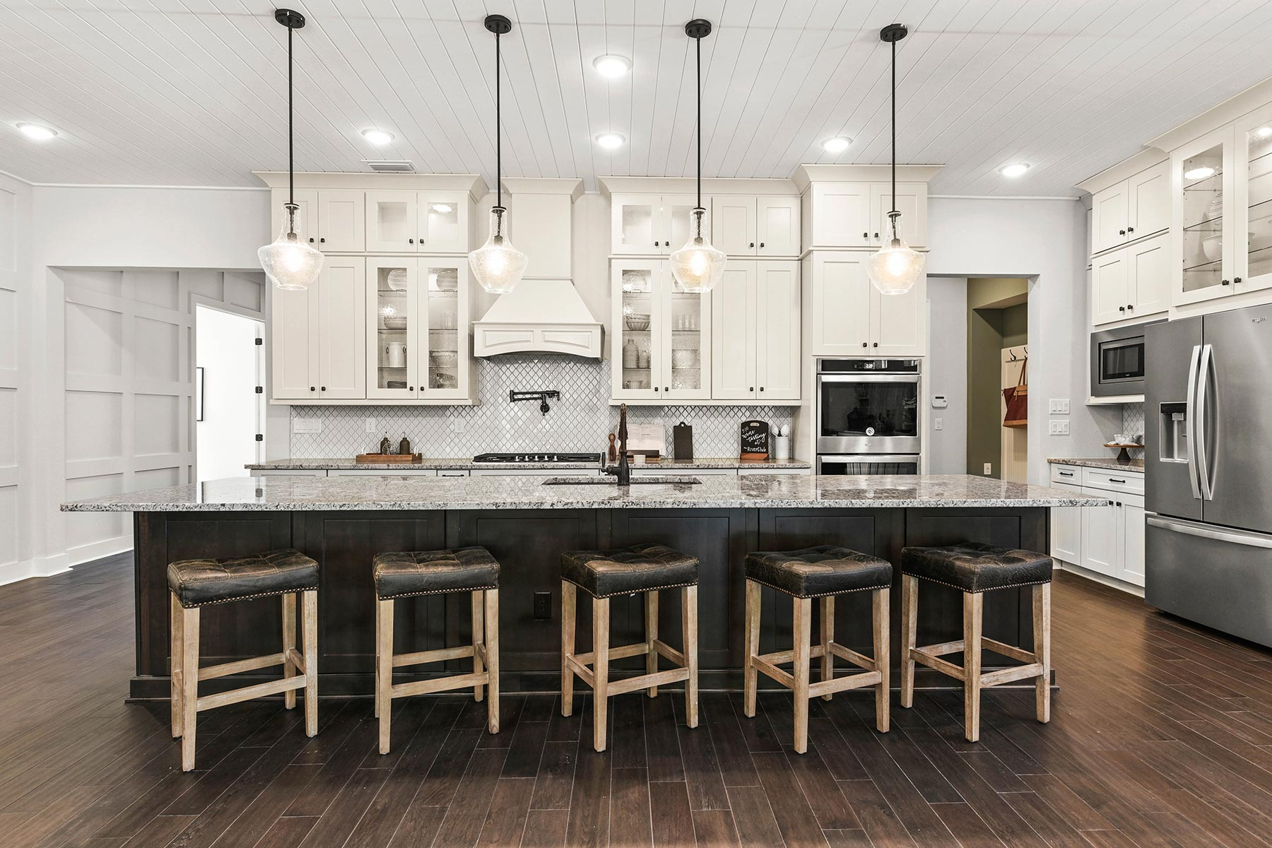 RiverTown - WaterSong Kitchen in St. Johns Florida by Mattamy Homes
