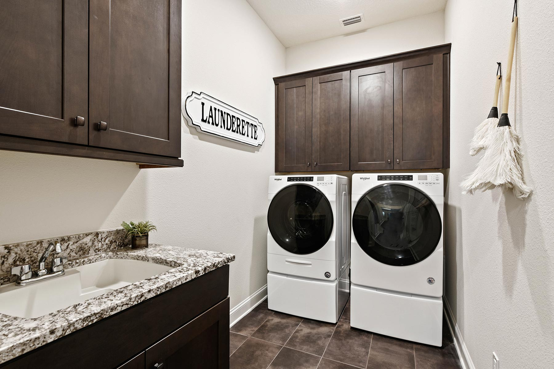 Bridge Plan Laundry at RiverTown - WaterSong in St. Johns Florida by Mattamy Homes