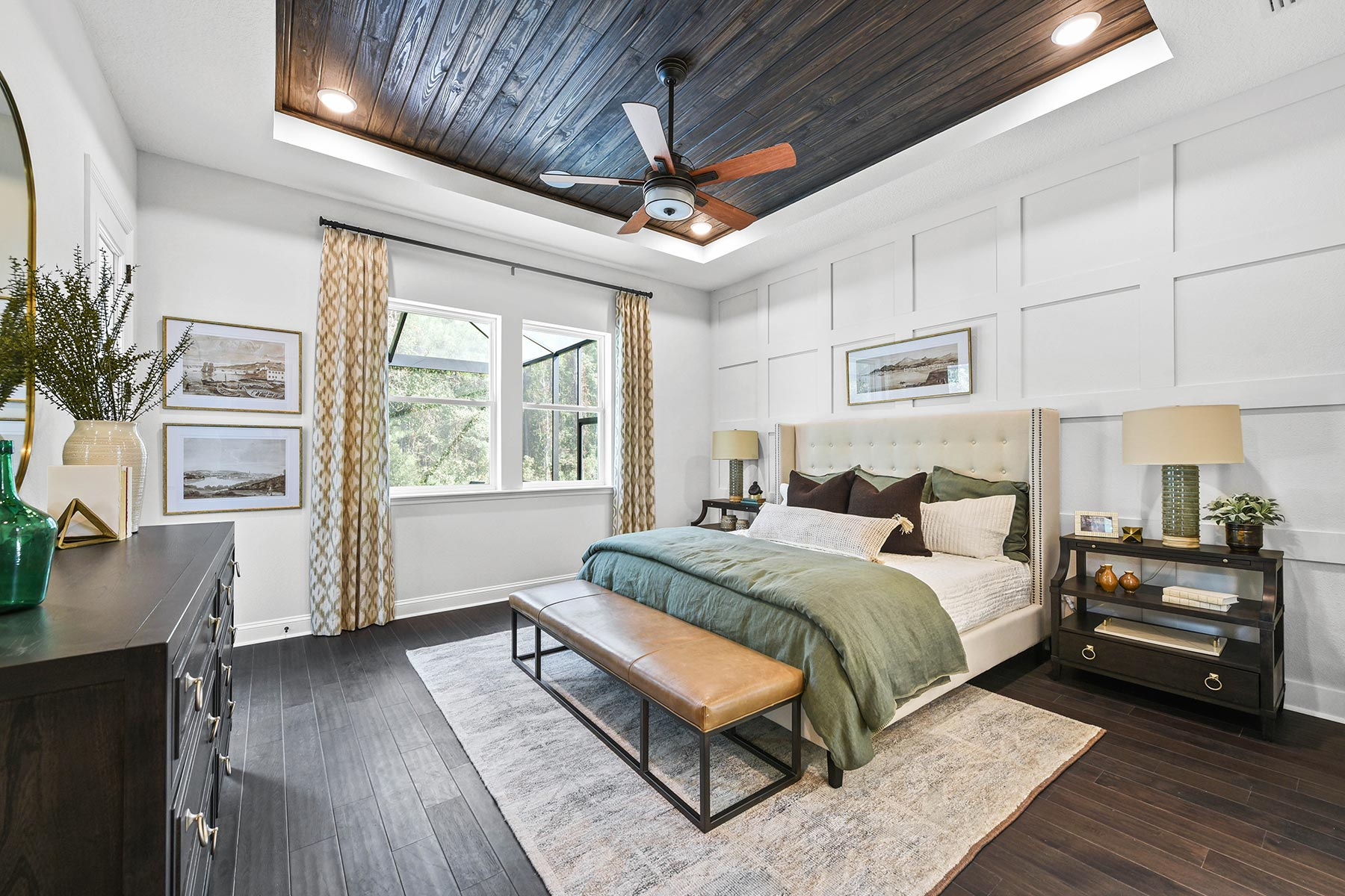 Bridge Plan Bedroom at RiverTown - WaterSong in St. Johns Florida by Mattamy Homes