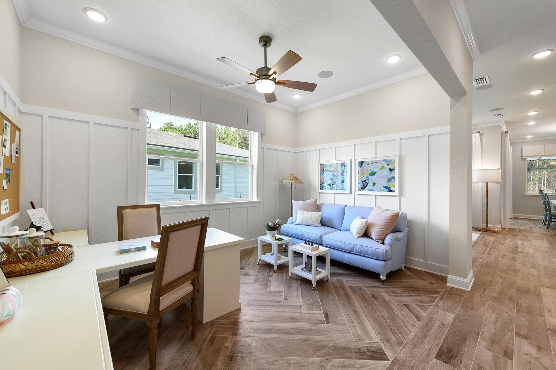 Court Plan Interior Others at RiverTown - WaterSong in St. Johns Florida by Mattamy Homes