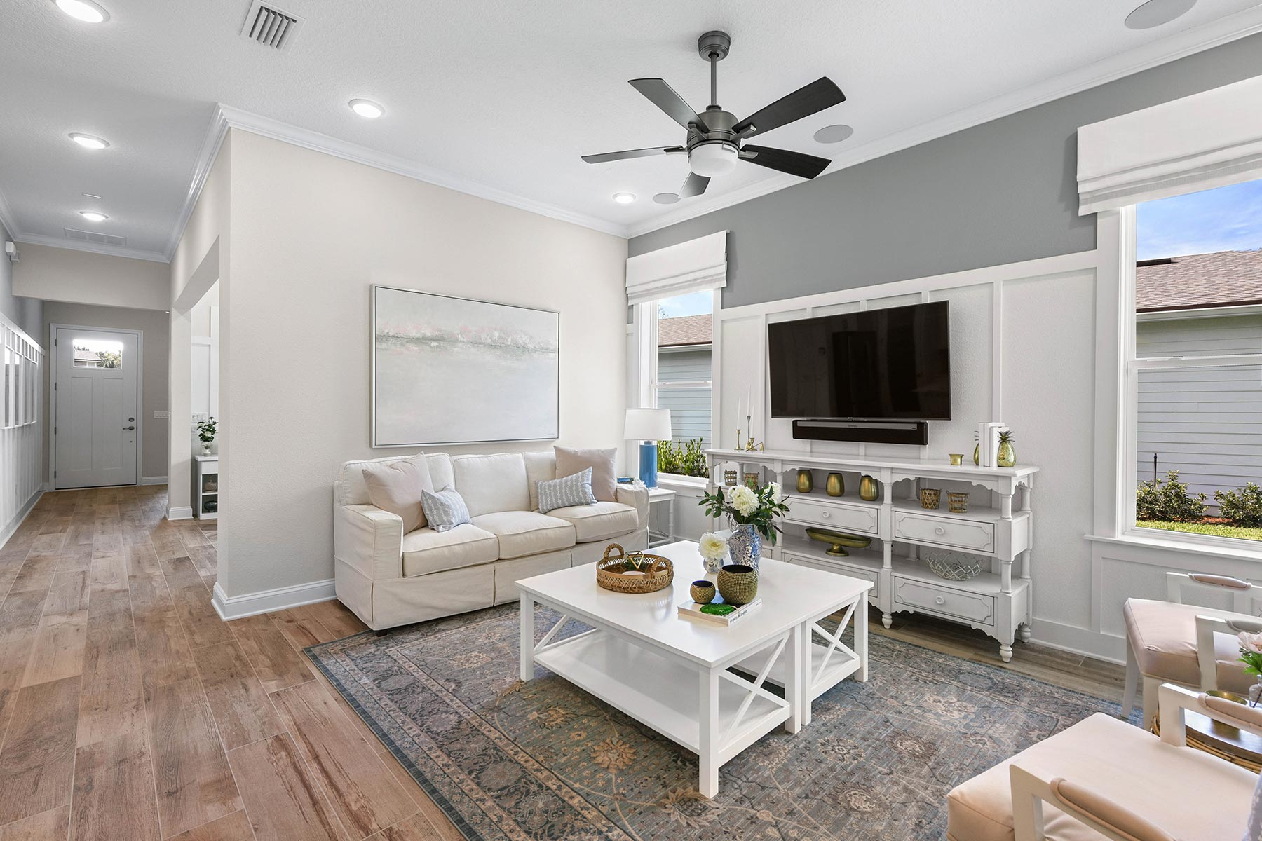 Court Plan Greatroom at RiverTown - WaterSong in St. Johns Florida by Mattamy Homes