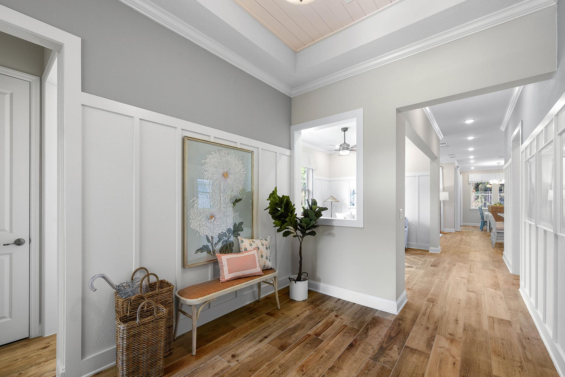 Court Plan Hallway at RiverTown - WaterSong in St. Johns Florida by Mattamy Homes