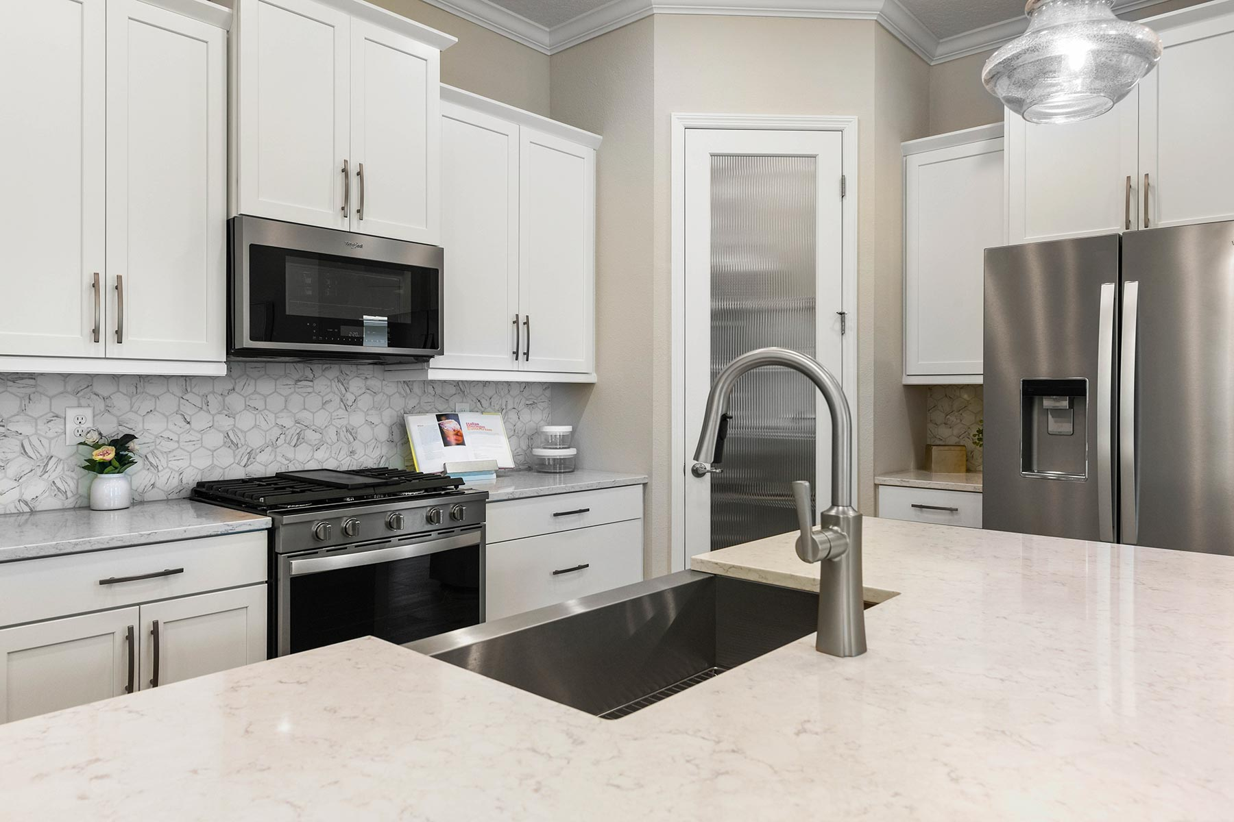 Court Plan Kitchen at RiverTown - WaterSong in St. Johns Florida by Mattamy Homes
